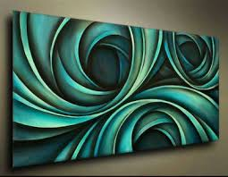 Design 6 Abstract Oil Paintings Canvas Cool Artwork Ultra Modern Digital 1 Pc Painting On Stretched Read To