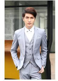 2015 Mens Suits Designs Men Blazer Design Male Casual Suit 3pcs Set Clothing Slim Fit