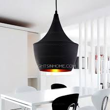 one light black shade creative classic pendant kitchen lights