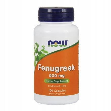 Now Foods Fenugreek - 500mg, 100 Capsules