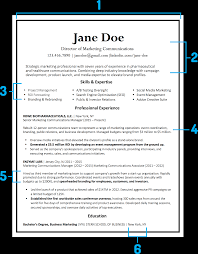 Some Resume Elements Courtesy Of TopResume Downloadable Template Here