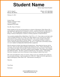 100 Example Of High School Resume College Admission Letters S