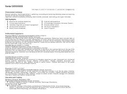 Medical Technologist Resume Examples Laboratory Samples