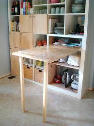 Ikea Computer Desk Hack by Marvellous Ikea Folding Desk Hack For Kitchen Counter Folds Up