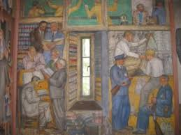 Coit Tower Murals Images by Coit Tower Harris Mural San Francisco Ca Living New Deal