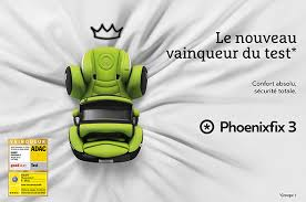 siege auto adac le siège auto phoenixfix 3 de kiddy vainqueur des tests bébé