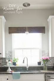 Kitchen Ideas Window Treatments Also Good