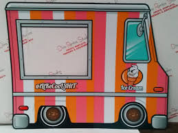 100 Ice Cream Truck Party Cardboard Amazing Gallery Dino Rentos Studios INC
