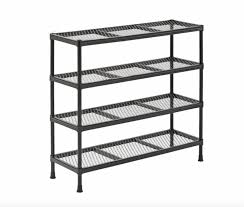 Furniture Metal Shoe Rack Beautiful Black Metal Shoe Rack Garage