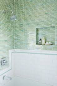 amusing glass tile bathroom decorating ideas of picture beachy