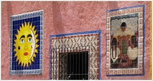 artistic ceramic tile murals