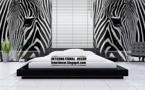 Bedroom Decorating Ideas With Zebra Print
