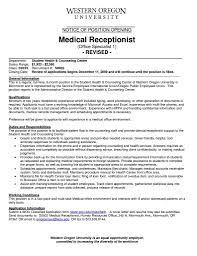 Medical Front Office Resume Receptionist Sample Monster Com And Back ... Medical Assistant Description For Resume Bitwrkco Medical Job Description Resume Examples 25 Sample Cna Assistant Duties Awesome Template Fondos De Rponsibilities Job Of Professional For 11900 Drosophila Bkperennials 31497 Drosophilaspeciation Example With Externship Cover Letter New 39 Administrative