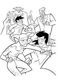 BATMAN Coloring Pages 69 Free Superheroes Sheets