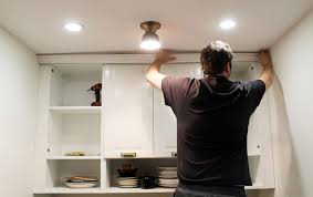 Installing Under Cabinet Lighting Ikea by How To Trim Out Ikea Cabinets Chris Loves Julia
