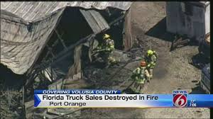 100 Florida Truck Sales Truck Sales Destroyed In Fire YouTube