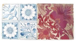 a morris co tile lot 136 arts crafts including the