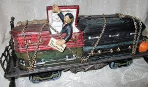 Dept 56 Halloween Village Ebay by Dept 56 Snow Village Halloween Haunted Rails Sleeper Car 4028711