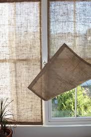 Smocked Burlap Curtain Panels best 25 burlap drapes ideas on pinterest burlap living rooms