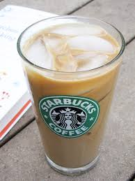 Starbucks Iced White Chocolate Peppermint Americano Cheater Style