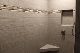 tile accent bathroom glass tile bathroom ideas eclectic