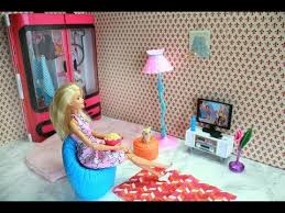 Barbie Living Room Playset by Barbie Living Room Home Cinema باربي السينما المنزلية Cinema Em