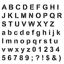 Alphabet Letters Printable Templates Vastuuonminun