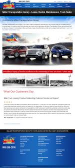 100 Miller Truck Leasing Trans Group Competitors Revenue And Employees Owler