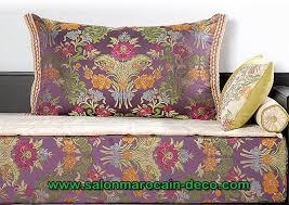 tissu canapé marocain salon marocaine moderne
