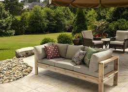 Diy Deck Furniture Build A Simple Yet Elegantly Modern Outdoor Bench With And Screws No Really