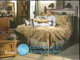 craftmatic adjustable bed commercial long version 2004 youtube