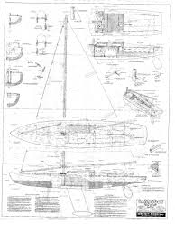 free sailboat plans vintage marblehead model yacht plans