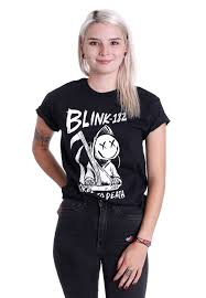 Smashing Pumpkins Merchandise T Shirts by Blink 182 Bored To Death T Shirt Official Alternative