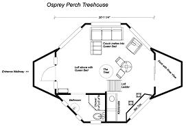 104 Tree House Floor Plan House Skamania Coves
