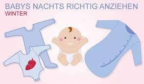 ratgeber gesunder babyschlaf babys nachts richtig anziehen