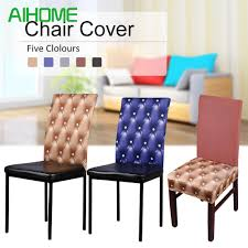 Waterproof Chair Cover Hotels Hotpot Restaurants Chair Back Cover ... Subrtex Plaid Stretch Ding Room Chair Covers Slipcovers Shabby Chic Oversized Slipcover Knit Spandex Fabric Polyester Protective Kitchen Seating Parson Ikea Fxdlh 100 Butterfly For Weddingbanquet2pc High Back Ding Room Chair Covers House Wallpaper Hd Seat Leather How To Re Cover A Astonishing Table Your Home Design Shop Stretchy Thicken Plush Short