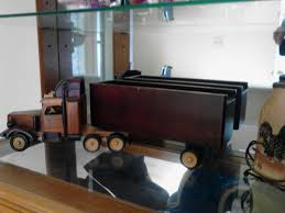 100 Old Semi Trucks Toy Wooden Truck Collectors Antique Item On PopScreen