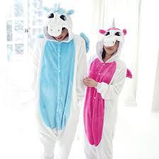 Adult Kawaii Anime Cartoon Animal Hoodie Pyjamas Cosplay Onesie Christmas Unicorn Pajama Costumes For Man