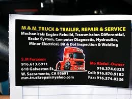 m m mobile truck trailer repair services 618 galveston st west
