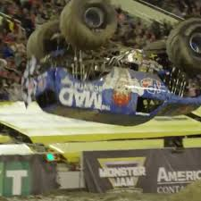 Monster Truck Front-flips For The First Time Ever At Monster Jam ...