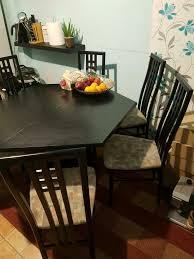 esstisch mit 6 stühle küche möbel esszimmer