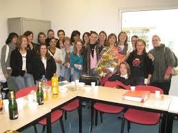 photo de classe formation secretaire comptable de 2008 afpa