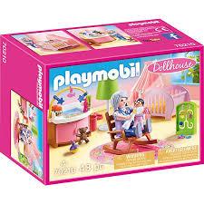 playmobil 70210 babyzimmer playmobil dollhouse