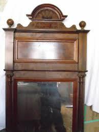 spiegel alt antik schlafzimmer diele flur dekoration shabby chic