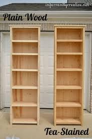 Making A Wooden Shelving Unit by Best 25 Homemade Bookshelves Ideas On Pinterest Homemade Shelf
