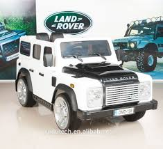 100 Kids Electric Truck White Land Rover Defender Ride On Car 12v
