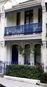 100 Sydney Terrace House White House Blue Wrought Iron Balcony And Fence BALCONIES