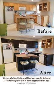 Gel Stain Cabinets Pinterest by General Finishes Java Gel Stain Kitchen Cabinets Staining