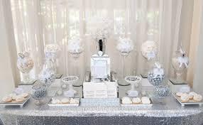 Gemma Micheals Elegant Silver White Wedding