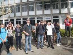 eclipse solaire collège le mont d or à manosque